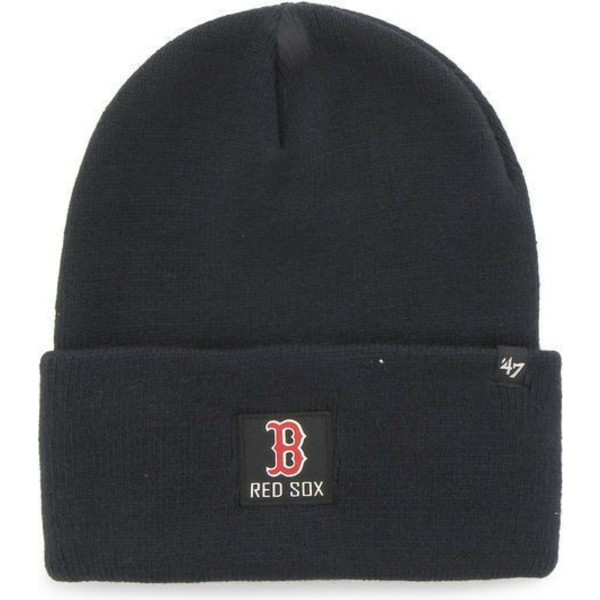 47-brand-box-logo-boston-red-sox-mlb-portbury-beanie-mutze-marineblau