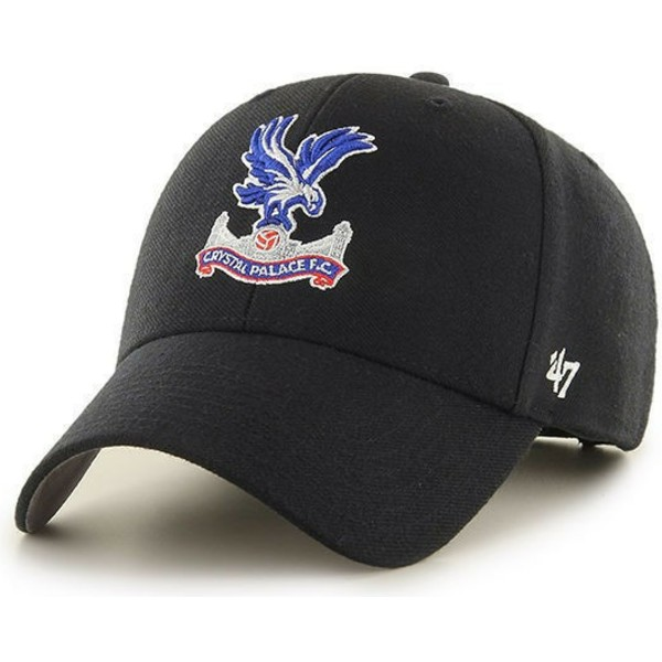47-brand-curved-brim-adler-logo-crystal-palace-football-club-mvp-cap-schwarz