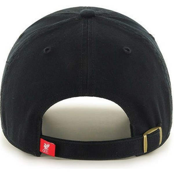 47-brand-curved-brim-liverpool-football-club-clean-up-cap-schwarz