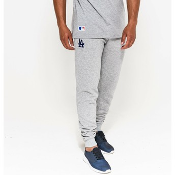New Era Jogginghose Los Angeles Dodgers MLB grau Long Track Pant