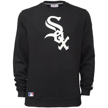 New Era Chicago White Sox MLB Crew Neck Sweatshirt schwarz