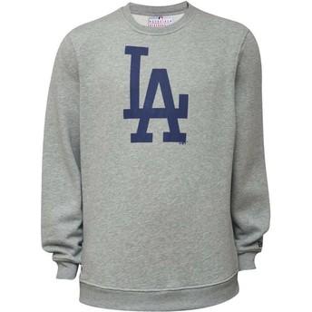 New Era Los Angeles Dodgers MLB Crew Neck Sweatshirt grau