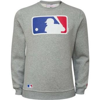 New Era Crew Neck MLB Crew Neck Sweatshirt grau