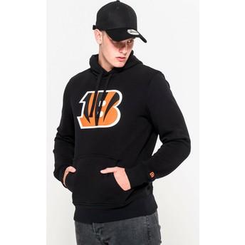 New Era Cincinnati Bengals NFL Pullover Hoodie Kapuzenpullover Sweatshirt schwarz