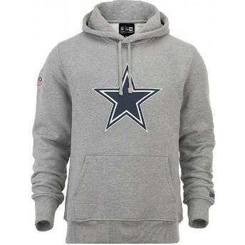 New Era Dallas Cowboys NFL Pullover Hoodie Kapuzenpullover Sweatshirt grau