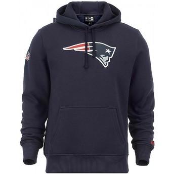 New Era New England Patriots NFL Pullover Hoodie Kapuzenpullover Sweatshirt blau