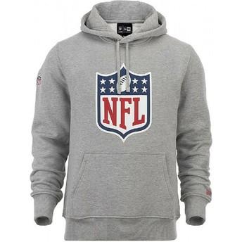 New Era NFL Pullover Hoodie Kapuzenpullover Sweatshirt grau