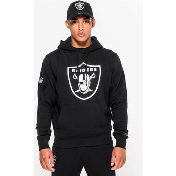 New Era Oakland Raiders NFL Pullover Hoodie Kapuzenpullover Sweatshirt schwarz