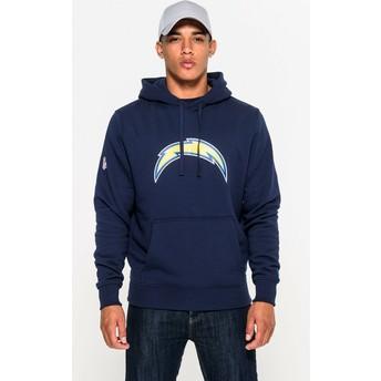 New Era San Diego Chargers NFL Pullover Hoodie Kapuzenpullover Sweatshirt blau
