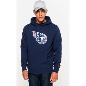 New Era Tennessee Titans NFL Pullover Hoodie Kapuzenpullover Sweatshirt blau