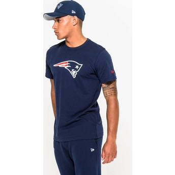 New Era New England Patriots NFL T-Shirt blau