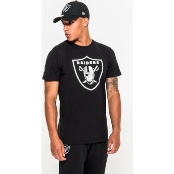 New Era Oakland Raiders NFL T-Shirt schwarz