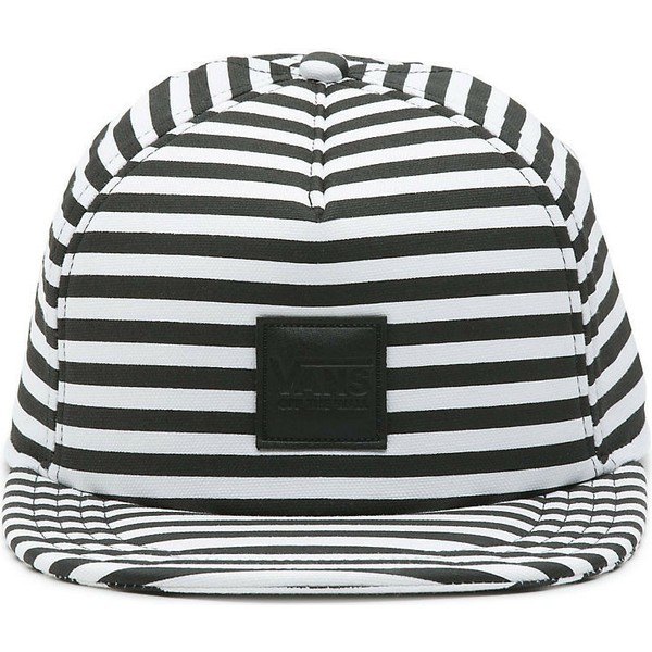 vans-flat-brim-sound-off-good-times-striped-snapback-cap-schwarz-und-weib-