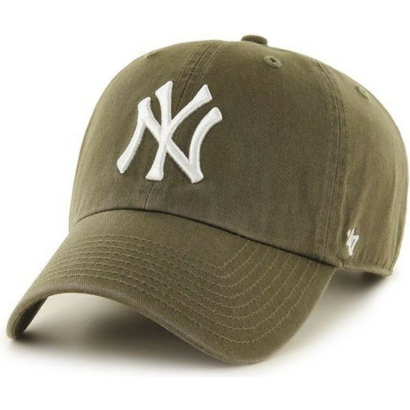 47-brand-curved-brim-new-york-yankees-mlb-clean-up-cap-braun
