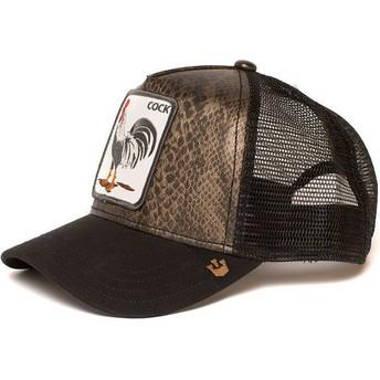 Goorin Bros. Rooster Tropical Trucker Cap schwarz