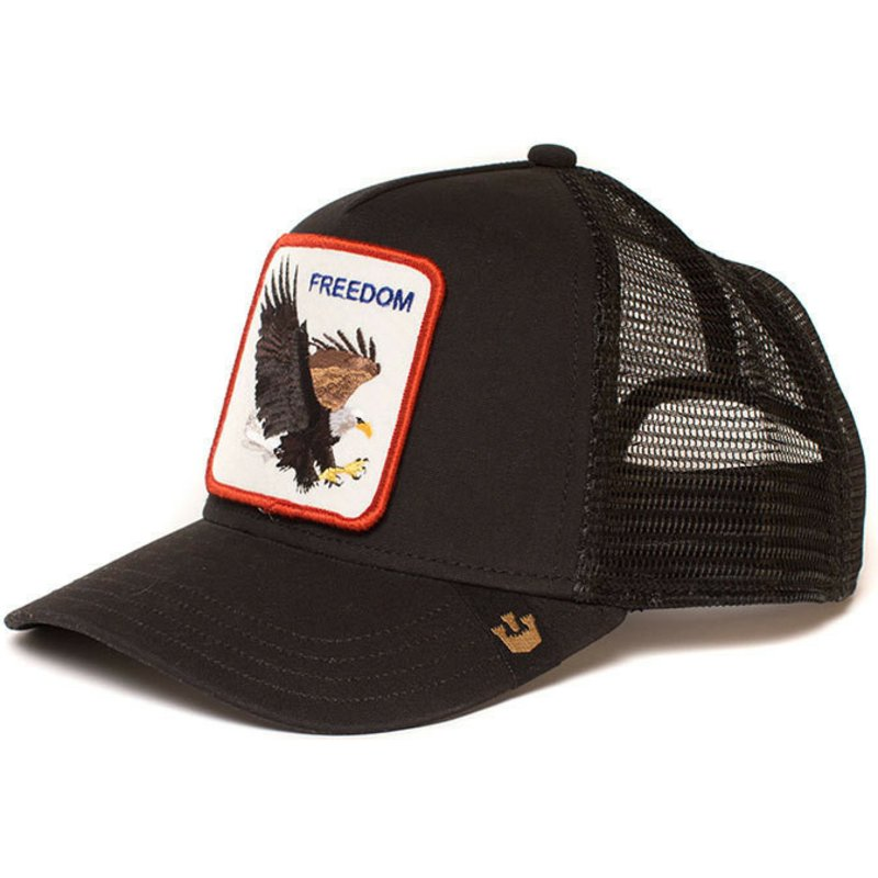 goorin-bros-eagle-freedom-trucker-cap-schwarz