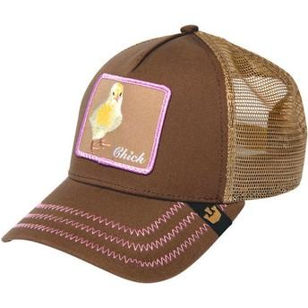 Goorin Bros. Chick Chicky Boom Trucker Cap braun