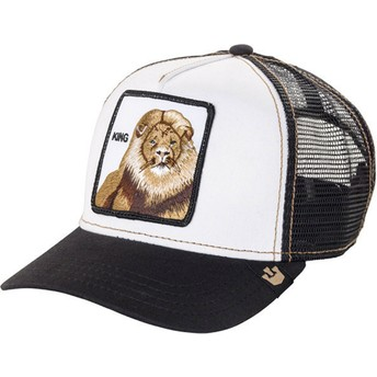 Goorin Bros. King Lion Trucker Cap schwarz