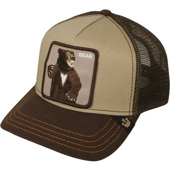 Goorin Bros. Bear Lone Star Trucker Cap braun