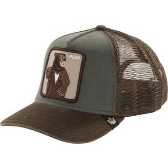 Goorin Bros. Bear Lone Star Trucker Cap grün