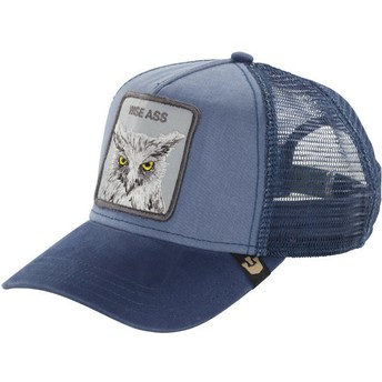 Goorin Bros. Owl Smarty Pants Trucker Cap blau