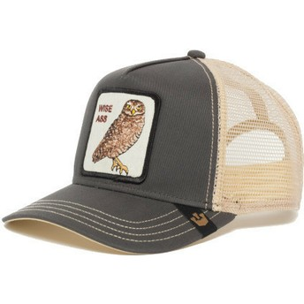 Goorin Bros. Owl Big Ass Trucker Cap grau