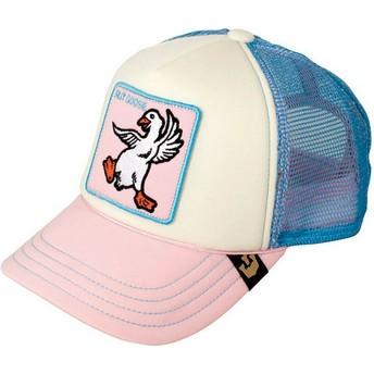 Goorin Bros. Kinder Silly Goose Trucker Cap pink und blau
