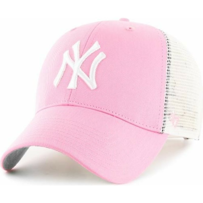 47-brand-new-york-yankees-mlb-trucker-cap-pink