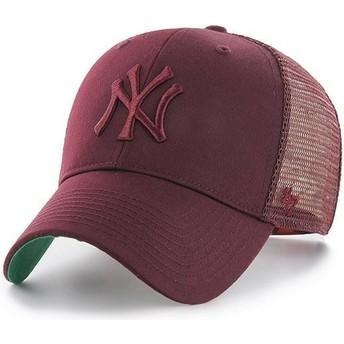47 Brand Braunes Logo New York Yankees MLB MVP Branson Trucker Cap braun