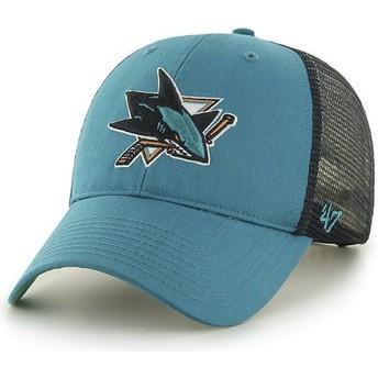 47 Brand San Jose Sharks NHL MVP Branson Trucker Cap grün