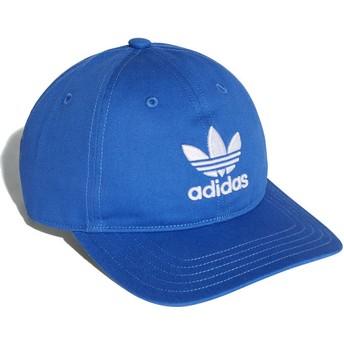Adidas Curved Brim Trefoil Classic Adjustable Cap blau