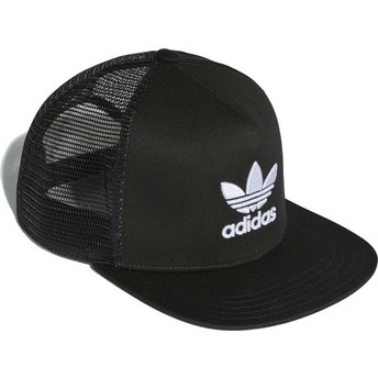 Adidas Trefoil Trucker Cap schwarz