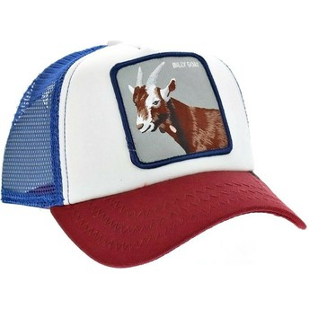 Goorin Bros. Goat Hickory Stick Trucker Cap blau