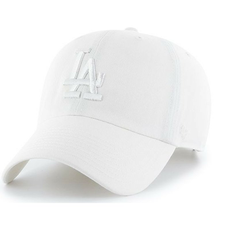 47-brand-curved-brim-weibes-logo-los-angeles-dodgers-mlb-clean-up-cap-weib
