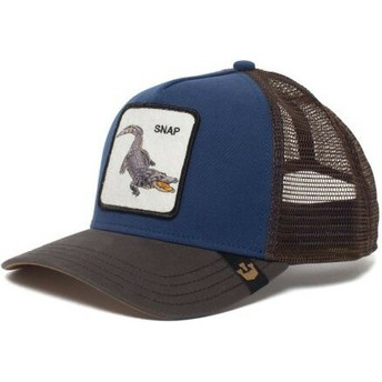 Goorin Bros. Crocodile Snap At Ya Trucker Cap blau