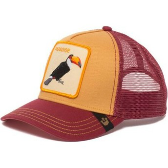 Goorin Bros. Toucan Take Me To Trucker Cap gelb