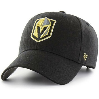 47 Brand Curved Brim Vegas Golden Knights NHL MVP Cap schwarz