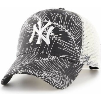 47 Brand New York Yankees MLB MVP Palma Trucker Cap schwarz