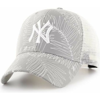 47 Brand New York Yankees MLB MVP Palma Trucker Cap grau