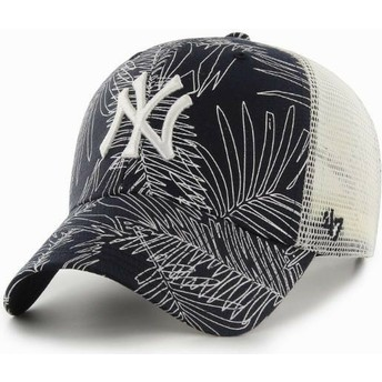 47 Brand New York Yankees MLB MVP Palma Trucker Cap marineblau
