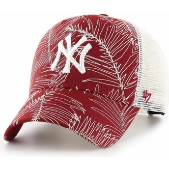 47 Brand New York Yankees MLB MVP Palma Trucker Cap rot