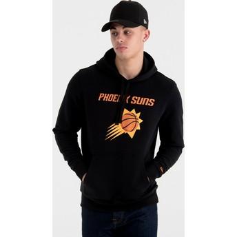 New Era Phoenix Suns NBA Pullover Hoodie Kapuzenpullover Sweatshirt schwarz