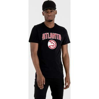 New Era Atlanta Hawks NBA T-Shirt schwarz