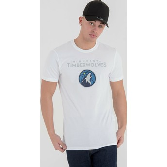 New Era Minnesota Timberwolves NBA T-Shirt weiß