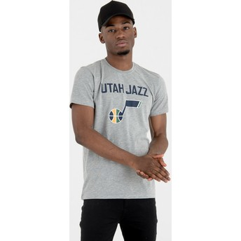 New Era Utah Jazz NBA T-Shirt grau