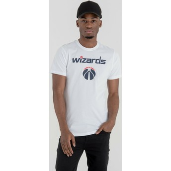 New Era Washington Wizards NBA T-Shirt weiß