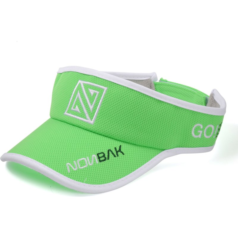 nonbak-anti-sweat-kappe-adjustable-visor-verstellbare-schirmmutze-grun-