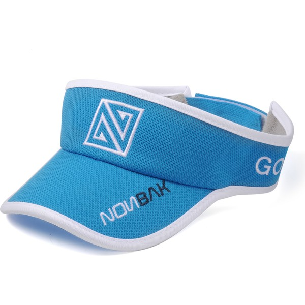nonbak-anti-sweat-kappe-adjustable-visor-verstellbare-schirmmutze-blau