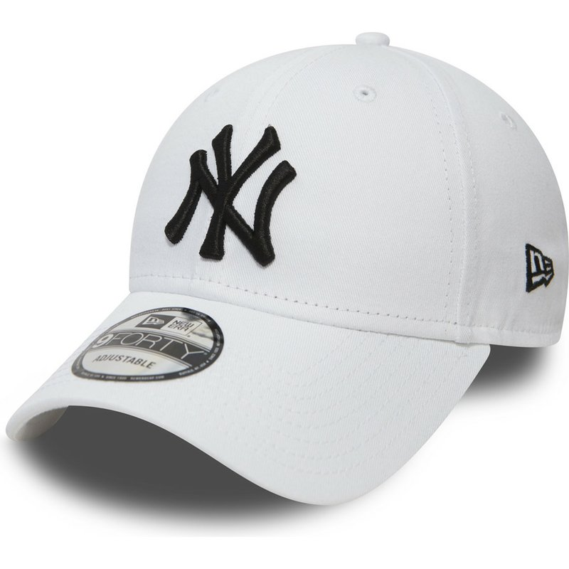 new-era-curved-brim-9forty-essential-new-york-yankees-mlb-adjustable-cap-weib