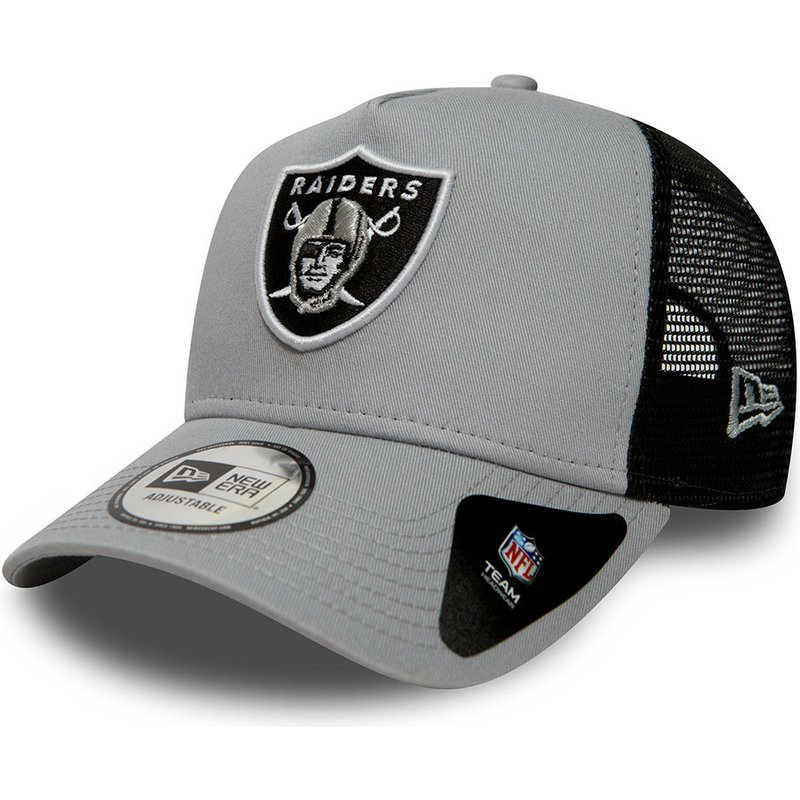 new-era-essential-a-frame-oakland-raiders-nfl-trucker-cap-grau